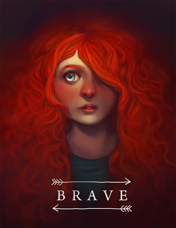 BRAVE by ameliadolezal