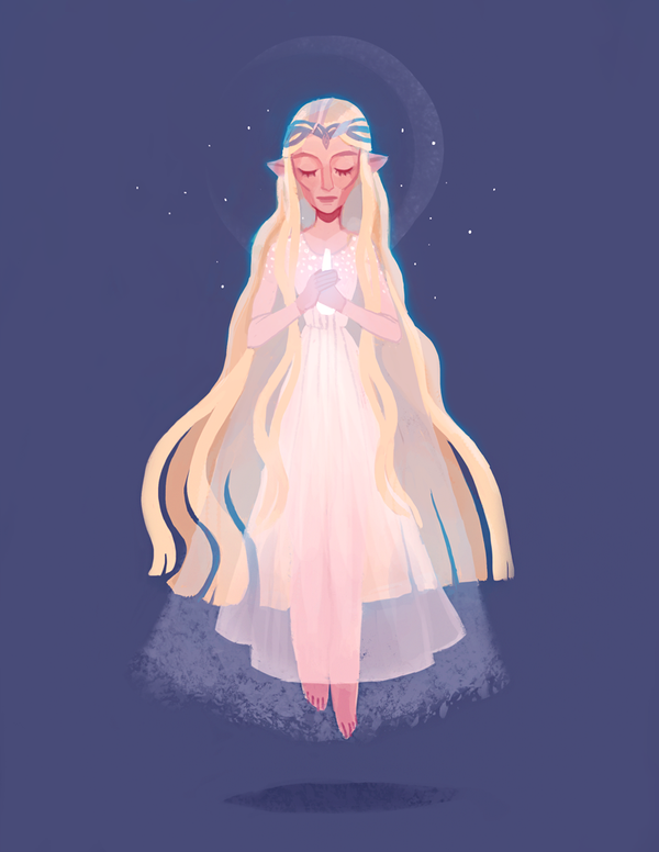 Lady of Light by ameliadolezal