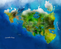 World Map by lordsethos