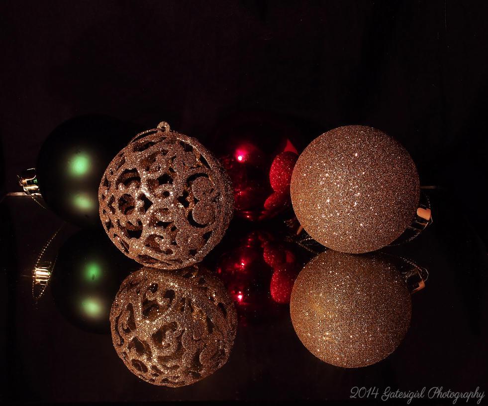 Christmas Baubles by Gatesigirl