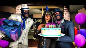 [SFM] Happy Birthday SkullHunter by TheLisa120