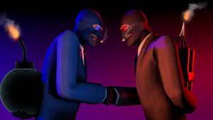 [SFM] Spy vs. Spy by TheLisa120