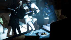 [SFM] Gaming Night by TheLisa120