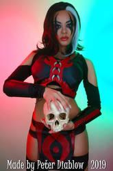 Sareena cosplay - Mortal Kombat X by LucidBelle