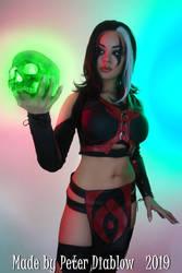 Sareena - Mortal Kombat X by LucidBelle