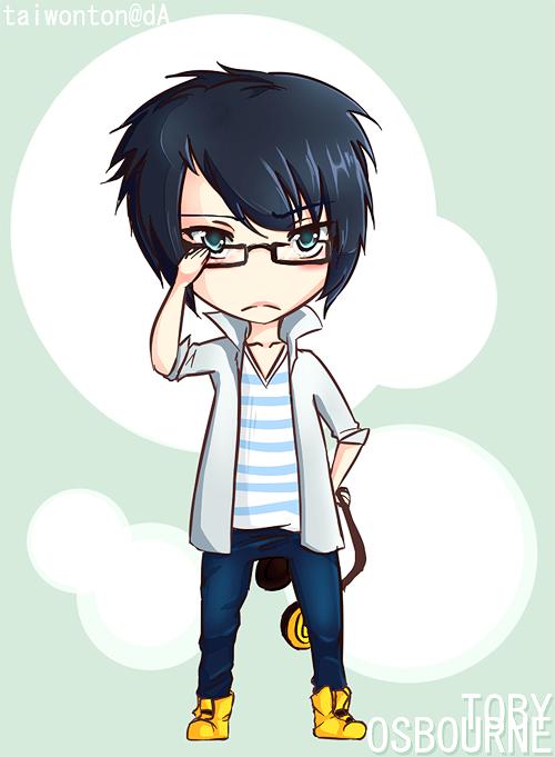 Chibi Anime Boy Nerd Pictures to Pin on Pinterest - PinsDaddy