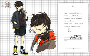 FNS: Kobayashi Mao by taiwonton