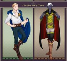 AA: Balto and Owain Swap by taiwonton