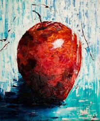 Red Eva's apple by BeeTatyana