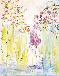 Spring miracle, a miracle of birth by BeeTatyana