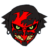 Insidious demon icon by Zurfergoth