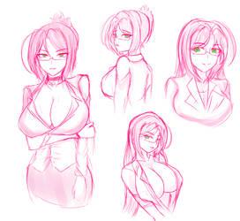 Random Sketch by Rikadoh