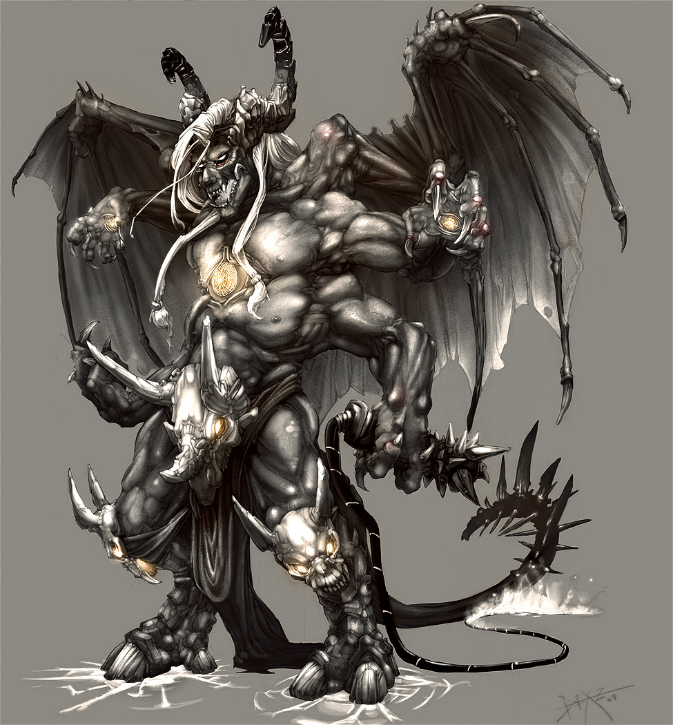 Demon - Chaos Weaver by drak