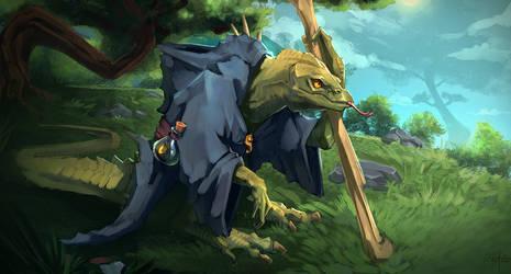 The Lizard Wizard