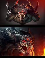 Demon by drak