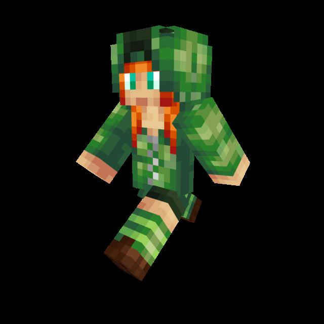 Minecraft Creeper Skin Girl Whereismyvoteinfo - Skin para minecraft pe creeper