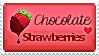 Chocolate strawberries by DinowCookie