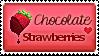 Chocolate strawberries by DinowCookie
