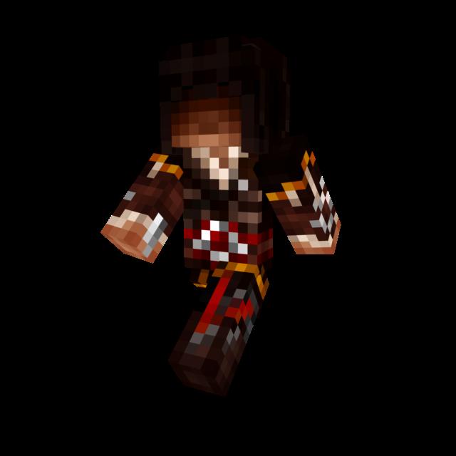Ezio In Altairs Robes Minecraft Skin By DinowCookie On DeviantArt - Assassin skins fur minecraft