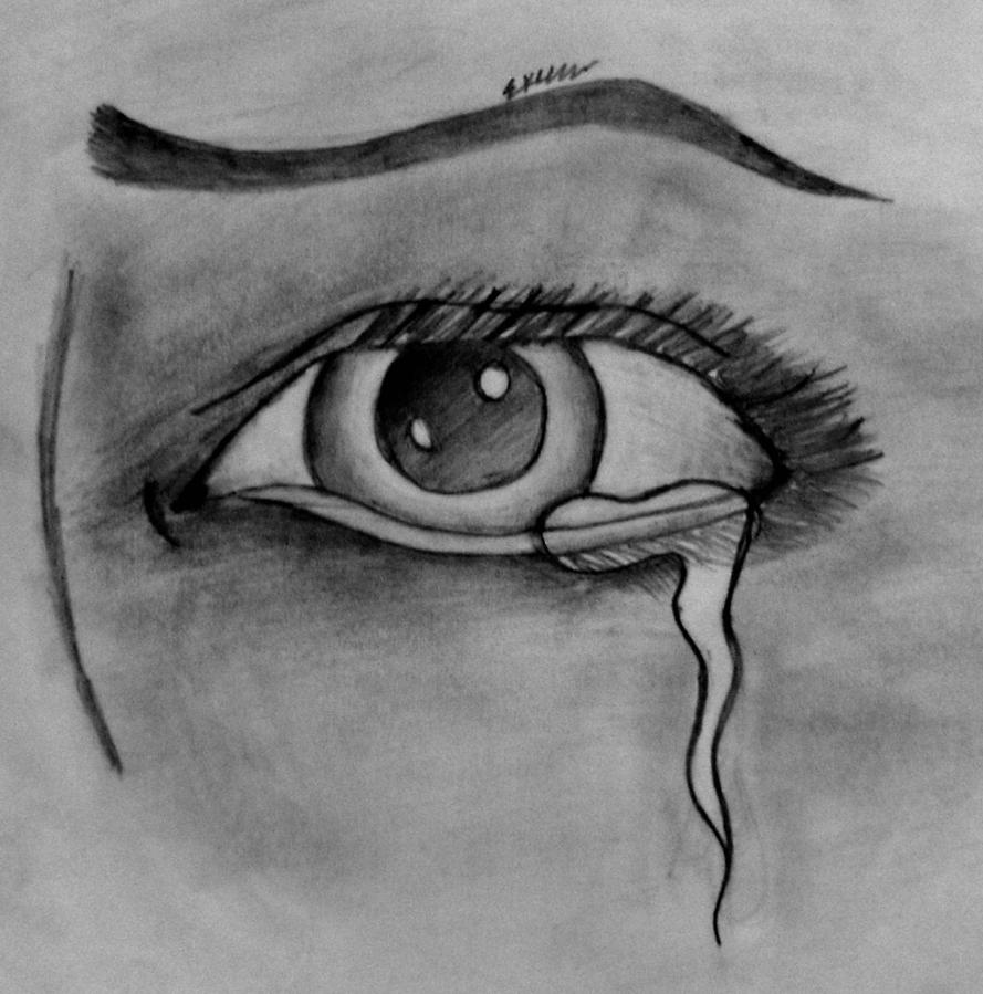 Crying Eyes By Tinkerbell229 On DeviantArt