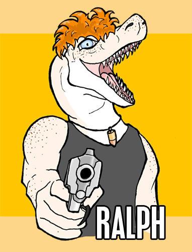 Ralph badge