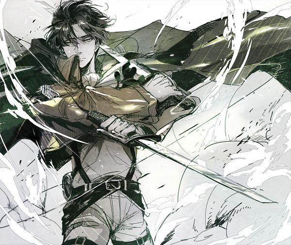 Heart of Courage (Levi x Reader) Happy ending by