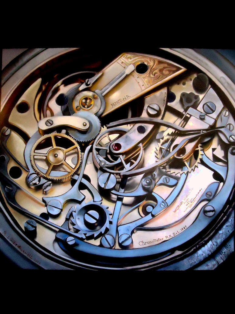 Chronometer as study in the mechanics of time by 21stCenturyDamocles