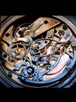 Chronometer as study in the mechanics of time