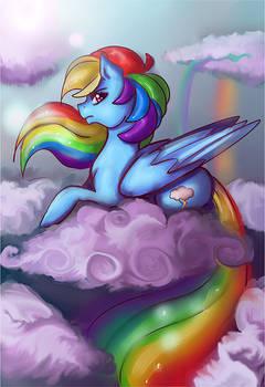 Rainbow Dash Print