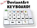 DeviantArt Keyboard