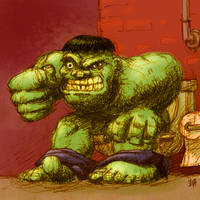 hulk potty by HaTheVinh