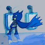batman urinal