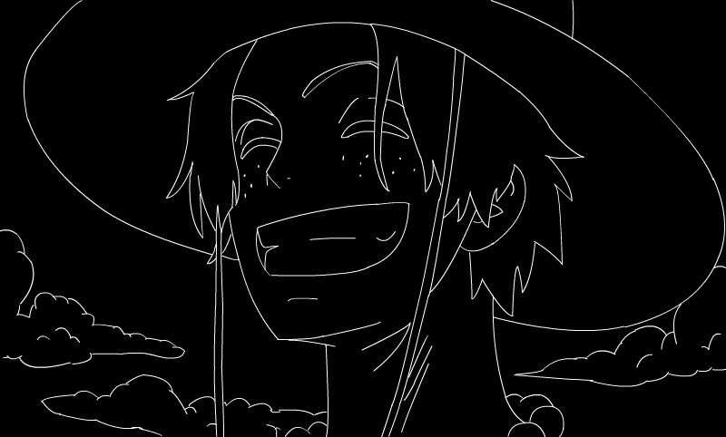 One Piece Lineart : Lineart. one piece. portgas d ace. by xsamnatax on deviantart