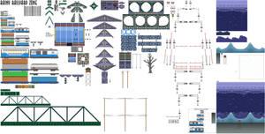 Rainy Railyard Zone by DanielMania123
