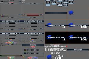 Custom Sonic Modern HUD Sprites