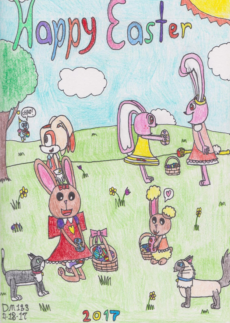 Happy Easter 2017 by DanielMania123