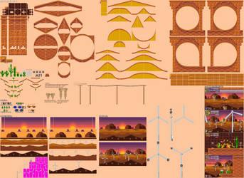 Dusty Dunes Zone by DanielMania123