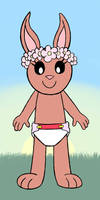 Flowers And Diaper Amy