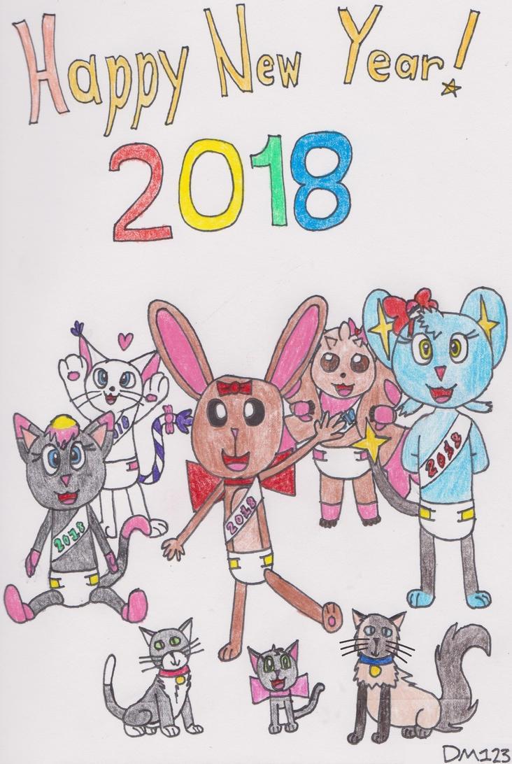 Happy New Year 2018 by DanielMania123