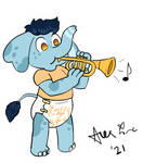 Arnie's Trumpet (Avionscreator N BabyAlexFire) by DanielMania123