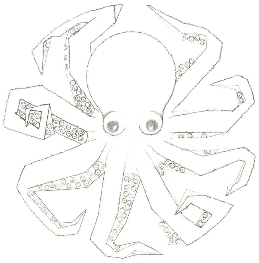 Line Art Octopus : Octopus s by line art club on deviantart