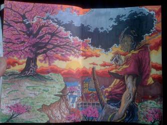 Samurai Stress by inkone37