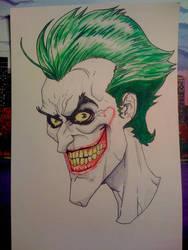 The Joker watercolor