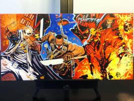 Wu Massacre Oil Painting