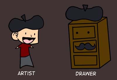 Artist Not Drawer by Kaxen6