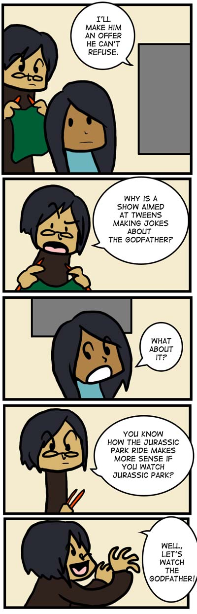 Tweens and the Godfather by Kaxen6