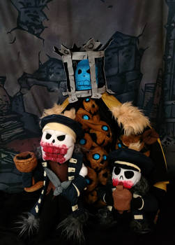Collector, Bone Courtier, and Bone Baby