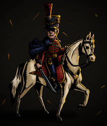 The Hussar Captain