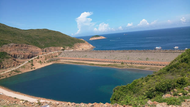 East Dam of High Island Reservoir