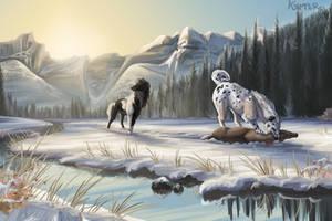 Dawn Doe Hunt by KJfromColors